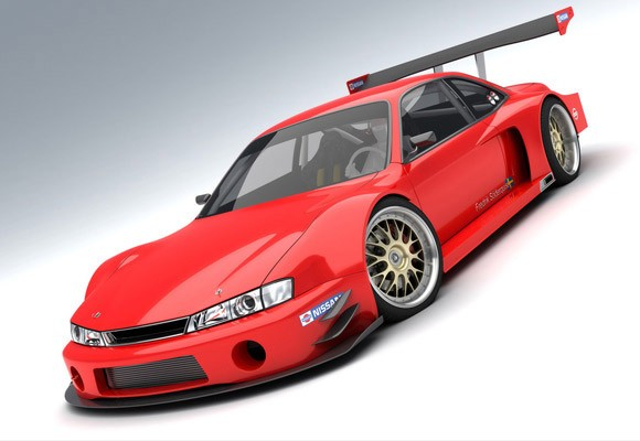 Tunning Nissan 24osx. widebody Nissan 240SX for