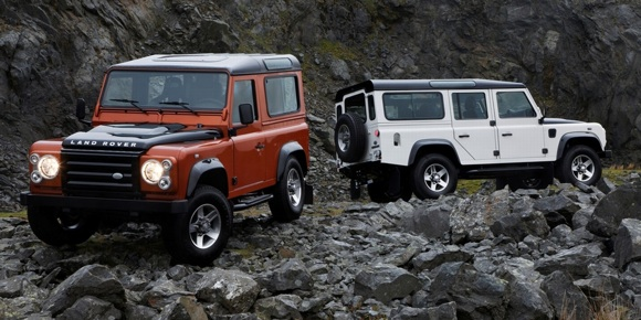Land Rover Defender Fire & Ice editions – Click above for high-res ...