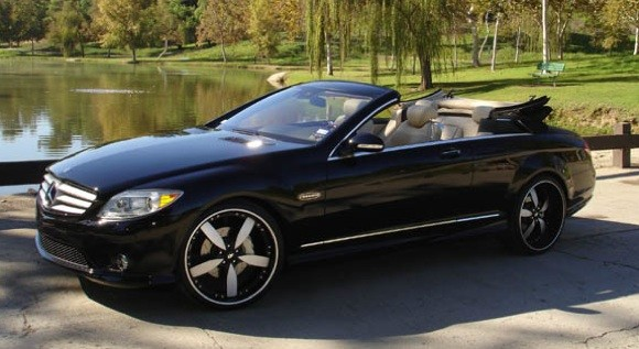 California Dreamin': Mercedes-Benz CL Convertible