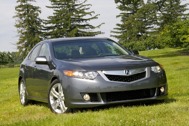 Quick Drive 2010 Acura Tsx V6 Sometimes More Isnt Always More