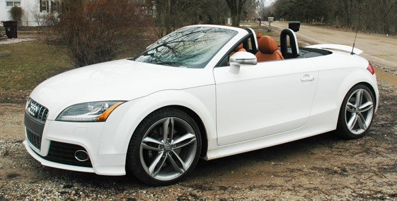 Review 2009 Audi Tts Is Our Orange Crush But Only Just