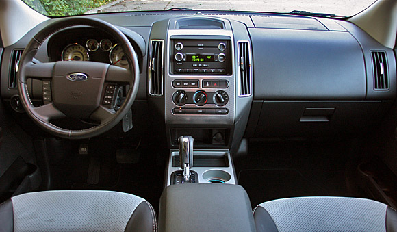 Review 2009 Ford Edge Sport offers big wheels key improvements