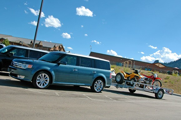 2010 Ford Flex Ecoboost Towing Capacity >> First Drive 2010 Ford Flex Ecoboost Delivers More Than Just A