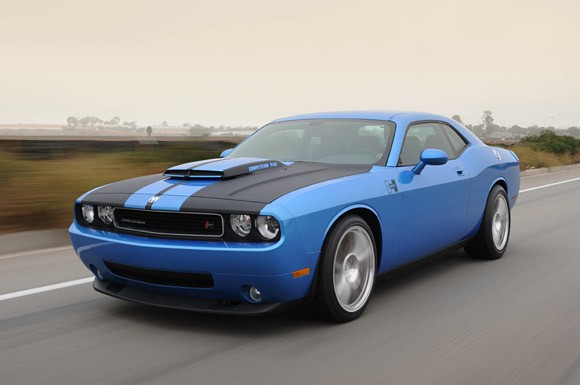 dodge chalinger blue