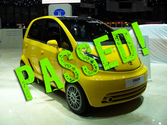 REPORT: Tata Nano passes European crash testing ...