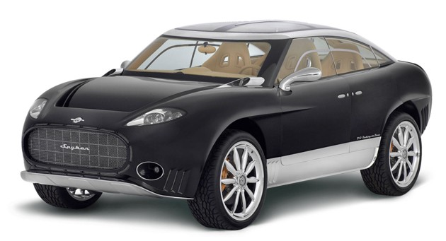 Spyker D12 Peking-to-Paris crossover - front three-quarter view