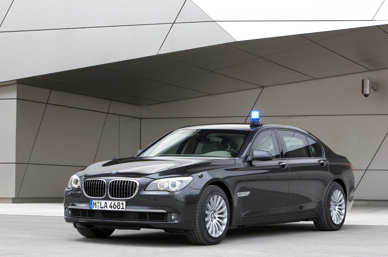 Keeping up with the House of Saud: BMW 7 Series High Security