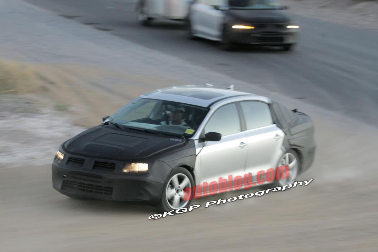 Spy-Shots of 2011-12 Jetta?