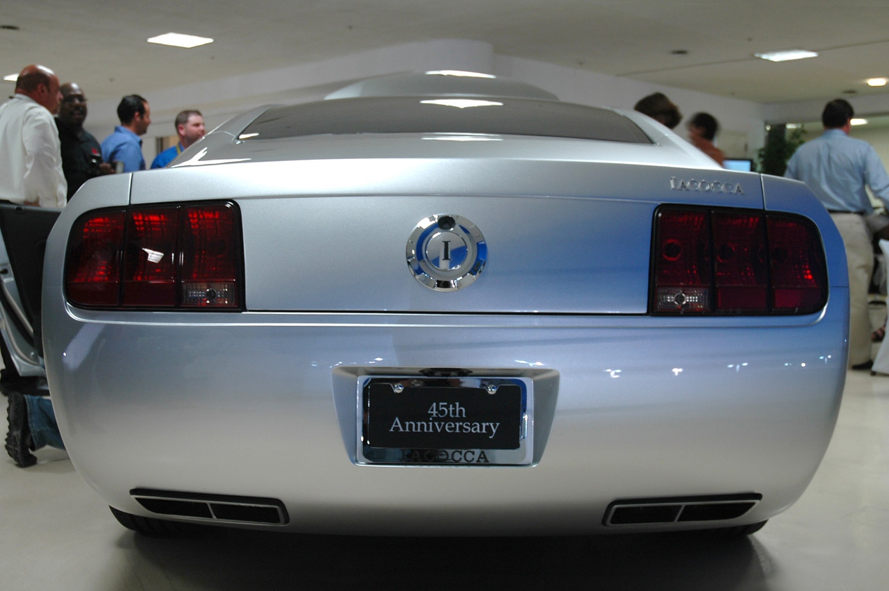 Iacocca 45th Anniversary Edition Ford Mustang - Live Photo Gallery ...