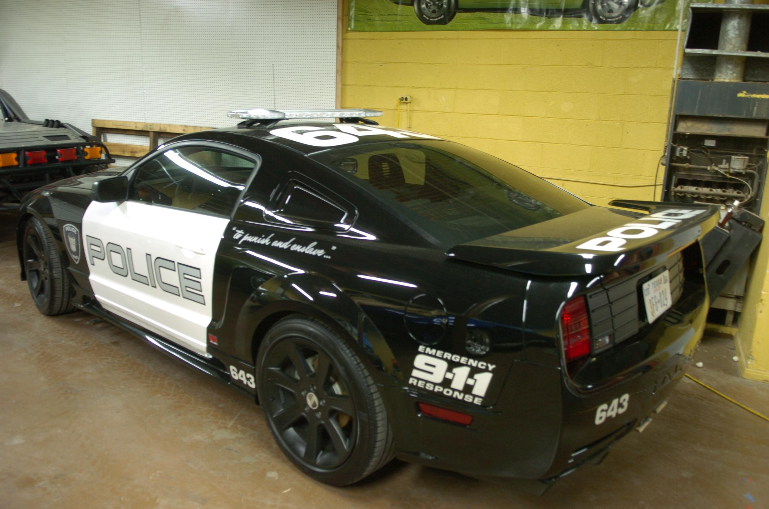 Barricade Saleen Mustang From Transformers On Icollector