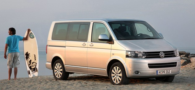 VW Caravelle, VW California, VW Transporter