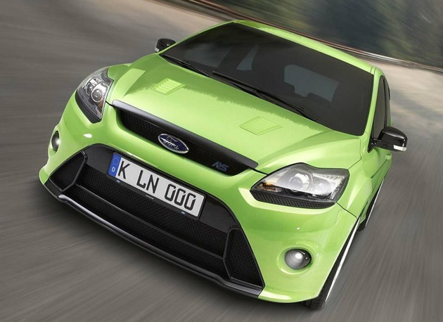 Ford Focus Rs. Point to point, the Ford Focus