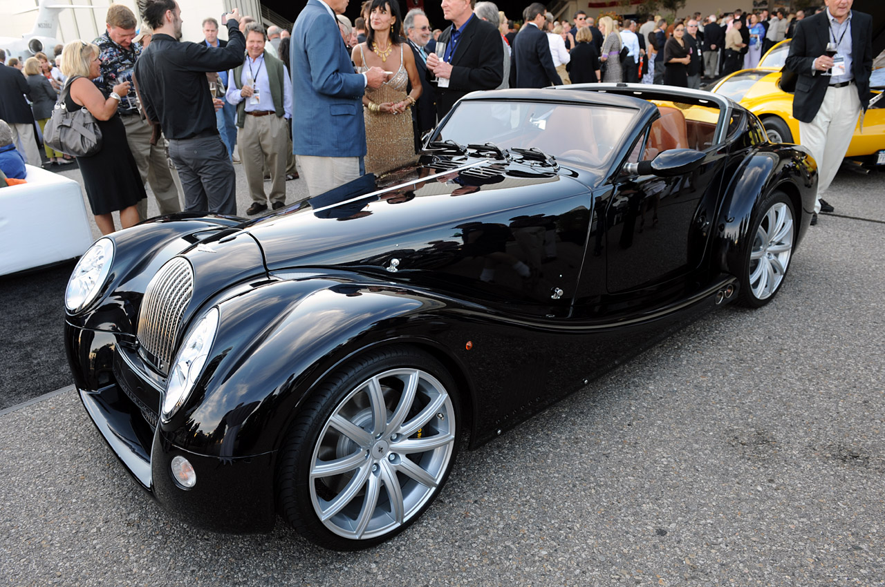 Monterey 2009 morgan aero supersports photo gallery autoblog vanachro Images