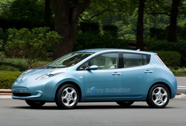 Nissan leaf in Australia