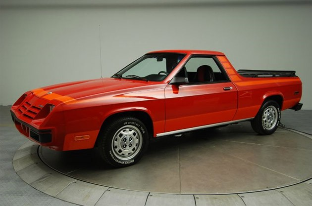 dodge rampage. 1982 Dodge Rampage - Click