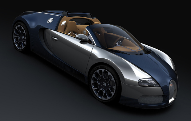2010 Bugatti Veyron Grand Sport Sang Bleu Wallpaper