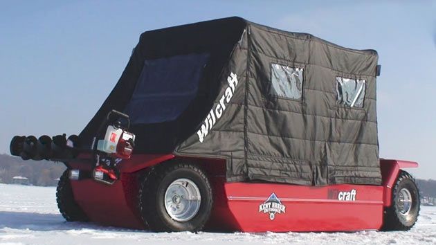 Wilcraft ice fishing car