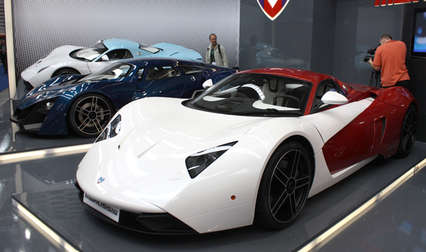 Marussia B2 and B1 Hybrid