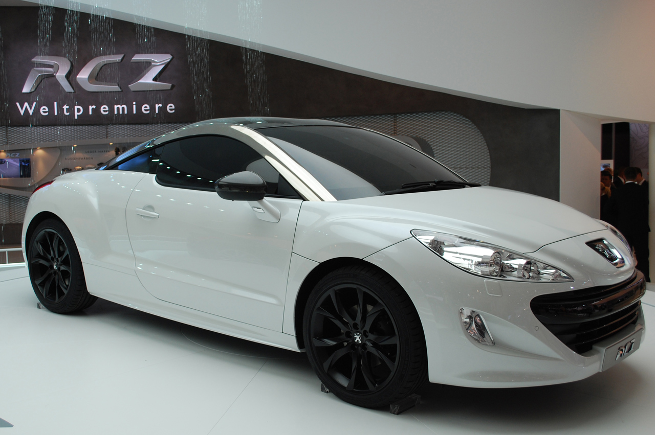 frankfurt 2009 peugeot rcz photo gallery autoblog. Black Bedroom Furniture Sets. Home Design Ideas