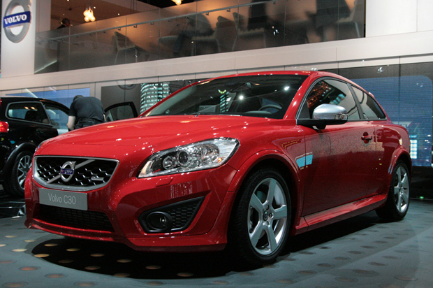 Facelifted 2010 Volvo C30