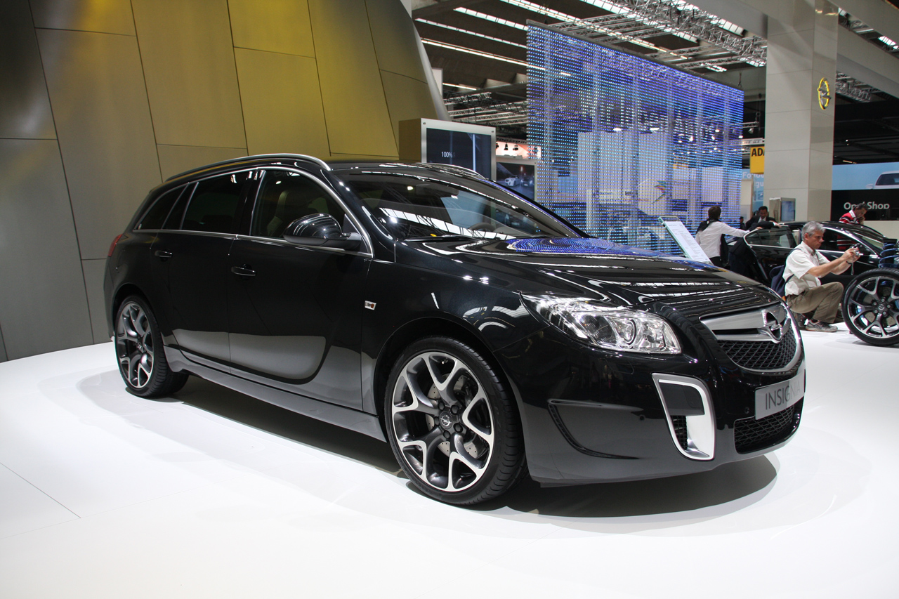 Opel Insignia Opc Sports Tourer 5 At 2010 Opel Insignia Opc Sports