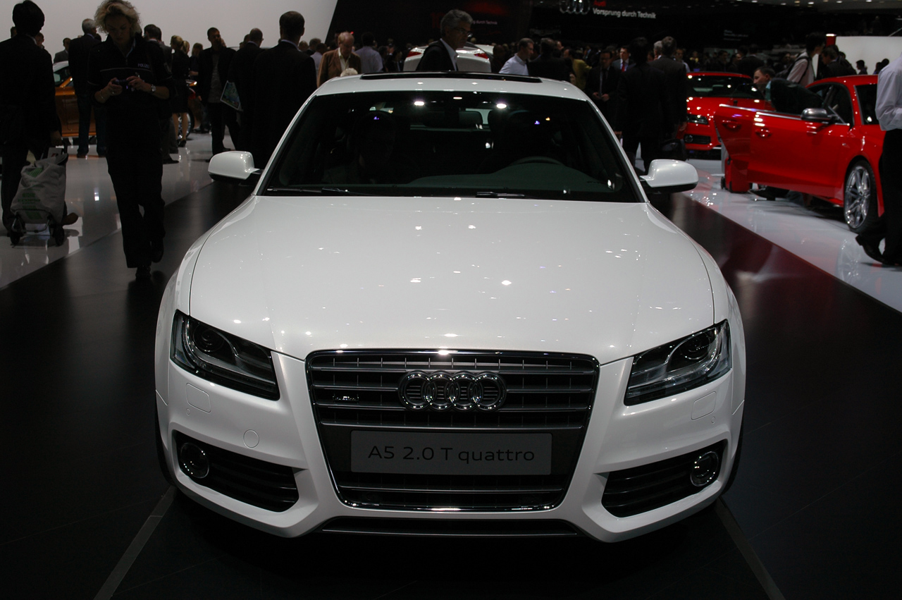 Home » Frankfurt 2009 Audi A5 Sportback Earns Believers Autoblog