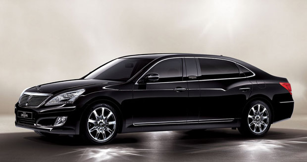 Hyundai develops stretched Equus limo for home market