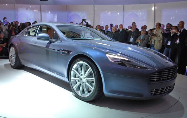 Frankfurt 2009: Aston Martin Rapide comes good - finally