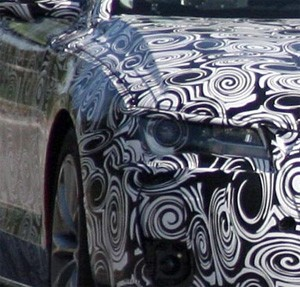 SPY SHOT: 2010 Audi A8 is met by the sculptor's rasp