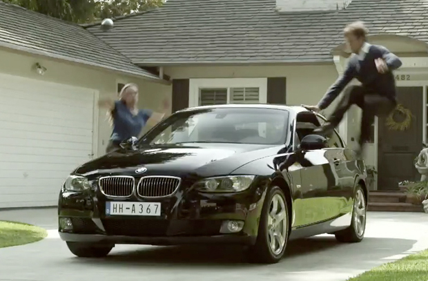VIDEO: People get all jumpy when it comes to their new BMWs