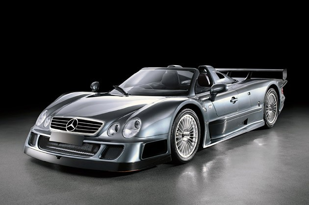 Mercedes-Benz CLK GTR Roadster - Click above for a high-res image gallery