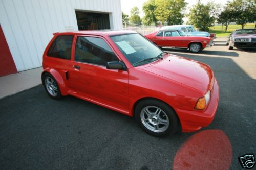 Ford Festiva SHOgun replica