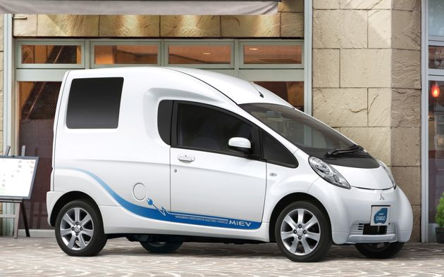 Tokyo Preview: Mitsubishi i-MiEV Cargo concept ready to move your eco-friendly goods