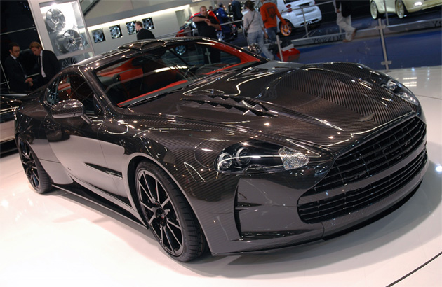 Frankfurt 2009: Mansory Cyrus is what carbon fiber was made for