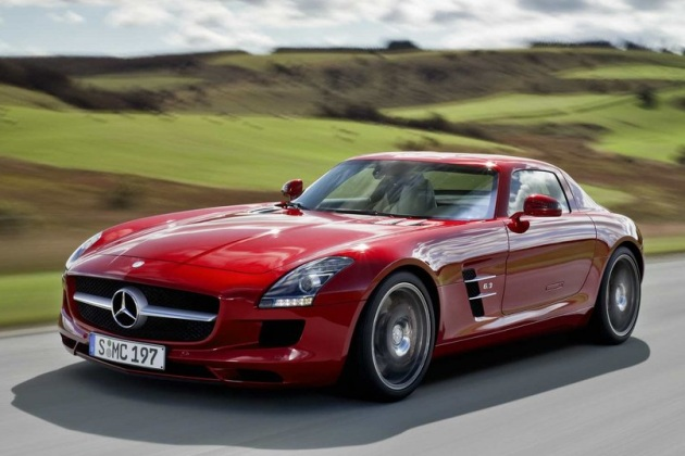 Mercedes-Benz SLS AMG — Autoblog :  mercedes benz sls car sports car