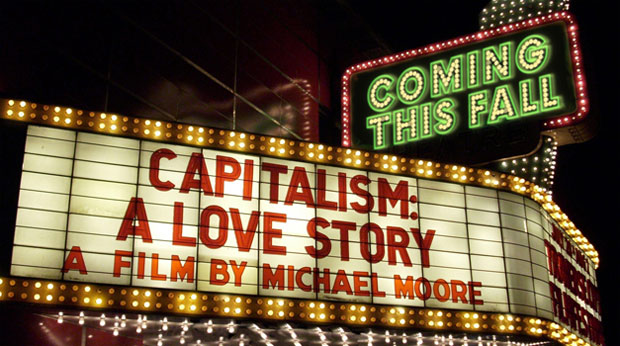 Michael Moore screens new film Capitalism: A Love Story at GM RenCen [w/VIDEO]