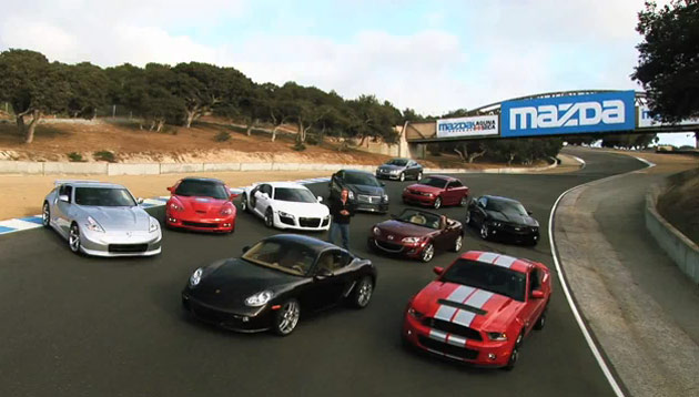 VIDEO: Motor Trend's Best Driver's Car Competition offers a few surprises