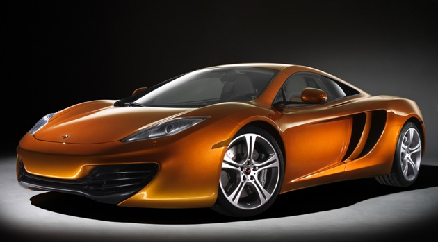 McLaren MP4-12C Wallpapers Left Side