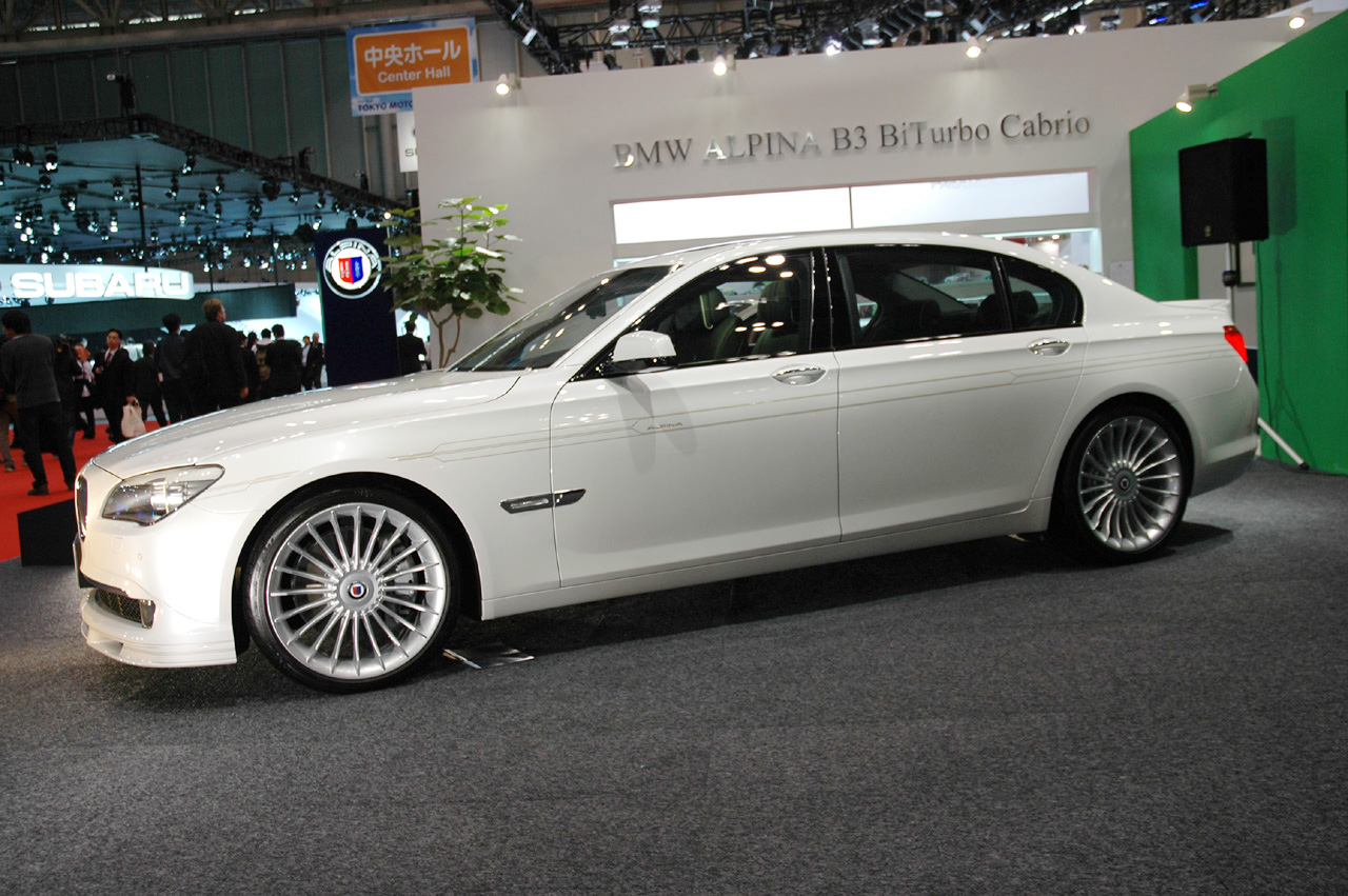 bmw alpina b7 now in long wheelsbase lwb at tokyo auto salon - bmw