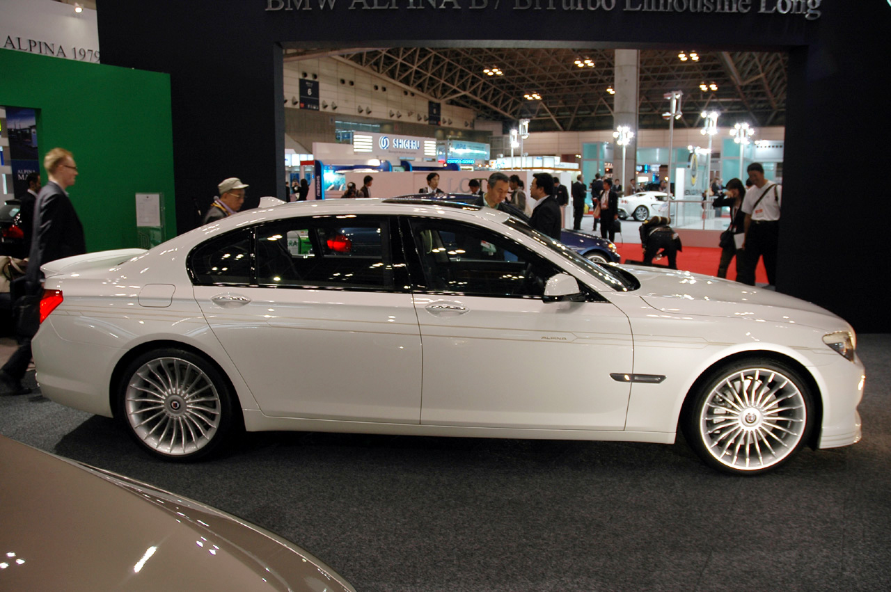 Bmw Alpina B7 Now In Long Wheelsbase Lwb At Tokyo Auto