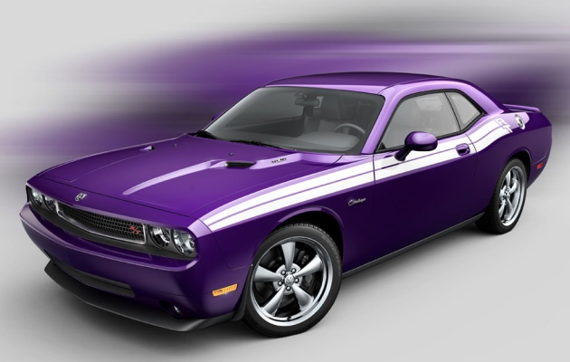 2010 Dodge Challenger in Plum Crazy - Click above to enlarge