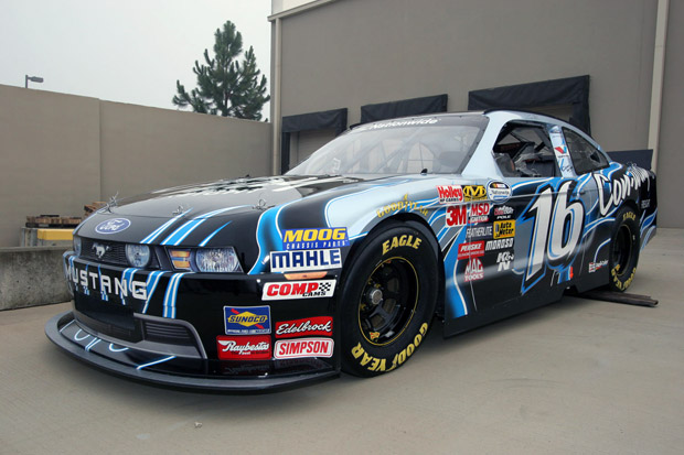 2010 Ford Mustang Nationwide series race car