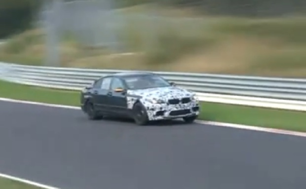 SPY VIDEO: 2011 BMW M5 prototype whines its way 'round the Nordschleife