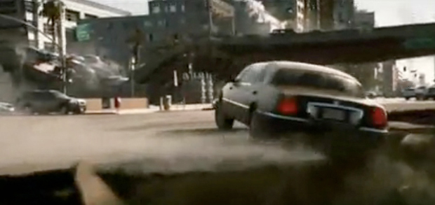 VIDEO: 2012 Trailer - When Cali crumbles into the sea, you want a Lincoln Town Car