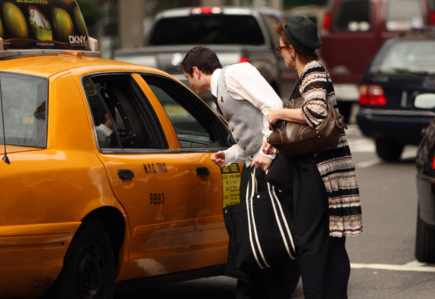 REPORT: NY cracking down on cabbies using cell phones - only took 10 years