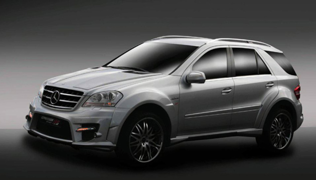 Introducing the Expression Motorsport Mercedes-Benz ML63 AMG Widebody