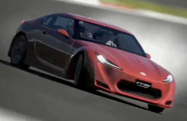 VIDEO: Toyota FT-86 Concept finds its way into Gran Turismo 5