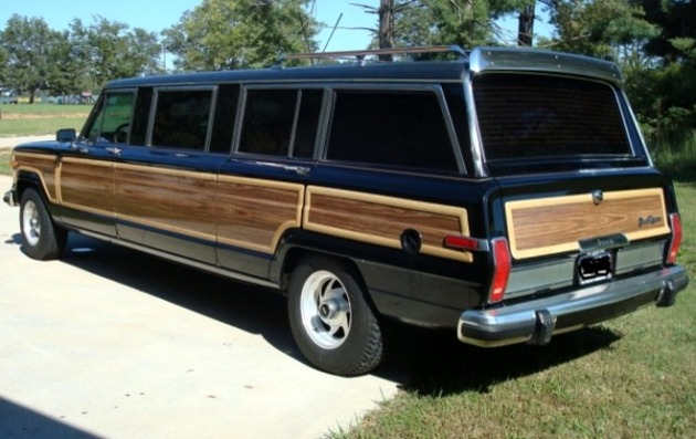 Jeep Grand Wagoneer Limo - Click above for high-res image gallery