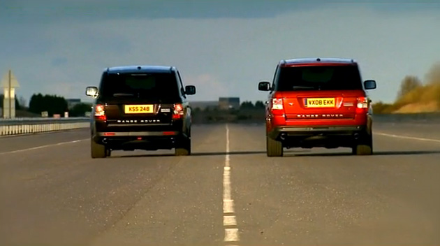 VIDEO: Year Over Year: 2010 Range Rover Sport destroys 2009 model in 0-100-0 dash