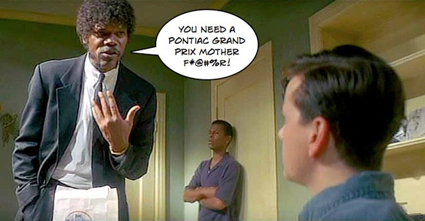 Great Vengeance and Furious Anger: Samuel L. Jackson Pontiac voiceover outtake *NSFW* [w/VIDEO]